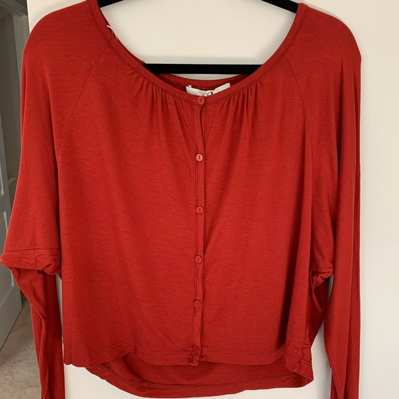 Forever 21 red blouse